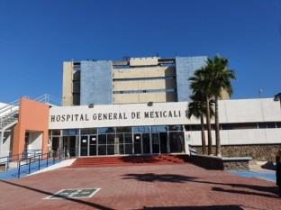 Trabajan en hospital de Mexicali sin refrigeración