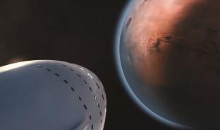 La firma liderada por Elon Musk, SpaceX, mantiene su propósito de llegar a Marte en su