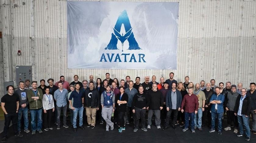 La secuela de Avatar se tuvo que detener en exteriores por la pandemia, pero pudo continuar en interiores.(jonplandau)