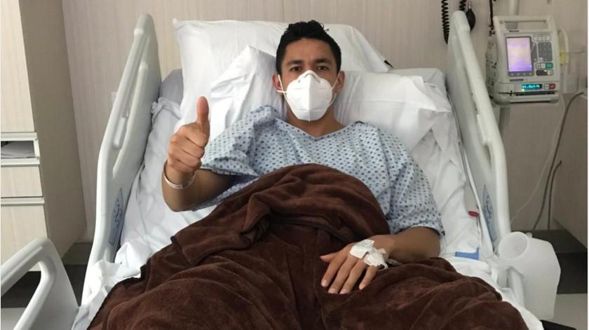Primer futbolista contagiado en México da negativo en segunda prueba de covid-19(Twitter @Cesar_bernal84)