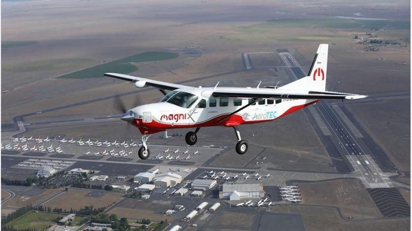 El primer avión de pasajeros completamente eléctrico acaba de tener su primer vuelo exitoso
