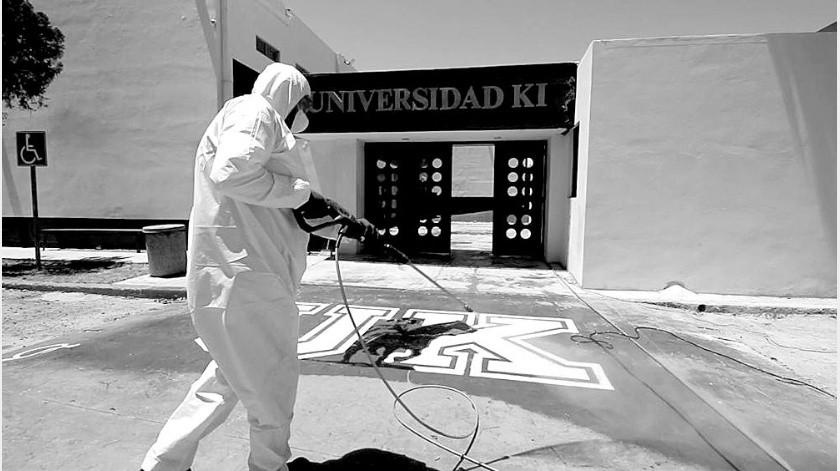 Con un protocolo de salud, higiene y seguridad, Universidad Kino se prepara para la reapertura de sus instalaciones, mismo que se realizará de manera escalonada y paulatina a partir del 1 de junio(Especial)