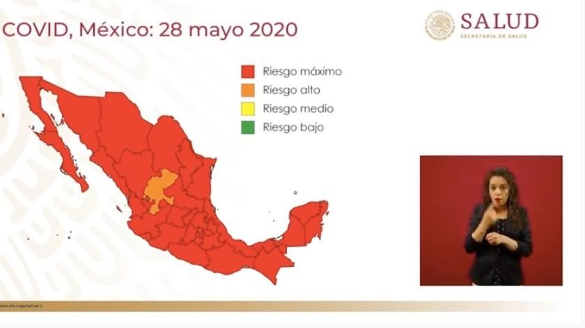 El 01 de junio arrancará 'Nueva Normalidad' con 31 estados en rojo