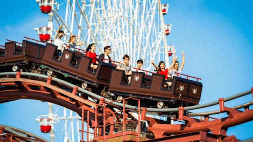 Abren nuevamente los parques de atracciones en Japón, pero prohíben gritar en los juegos(Tomada de la red)
