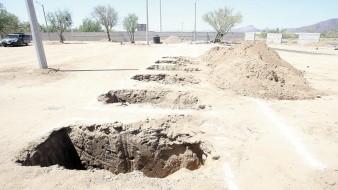 Panteón estará listo para usarse la segunda semana de junio