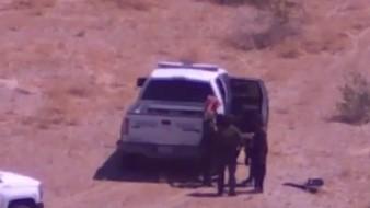 Con dron ubican y rescatan a mujer y dos adolescentes en desierto de Imperial