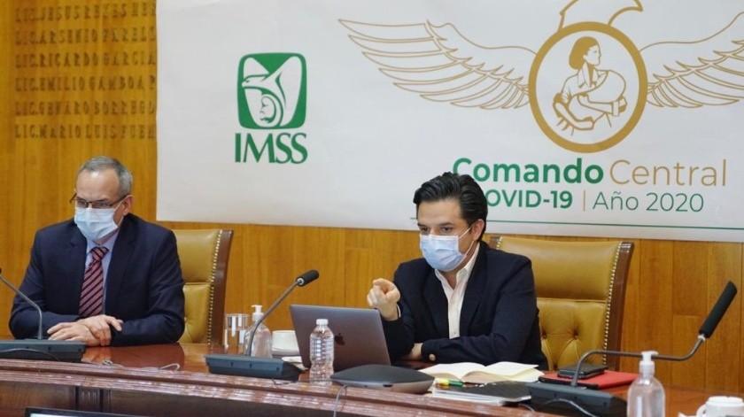 El director general del IMSS explicó que se estableció que el sano retorno de las empresas tuviera tres principios.