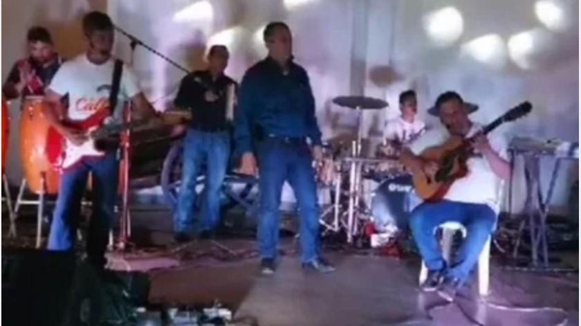 VIDEO: Mueren dos tras ataque en salón de fiestas de Tierra Blanca, Veracruz(Captura de video)