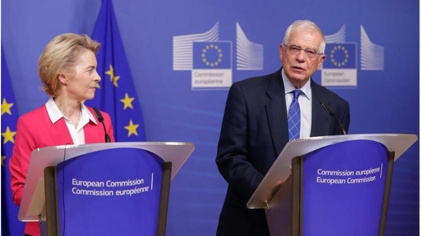"""La Unión Europea pidió este sábado a Estados Unidos que """"reconsidere"""" la decisión de romper su relación con la Organización Mundial de la Salud (OMS)(EFE)"""