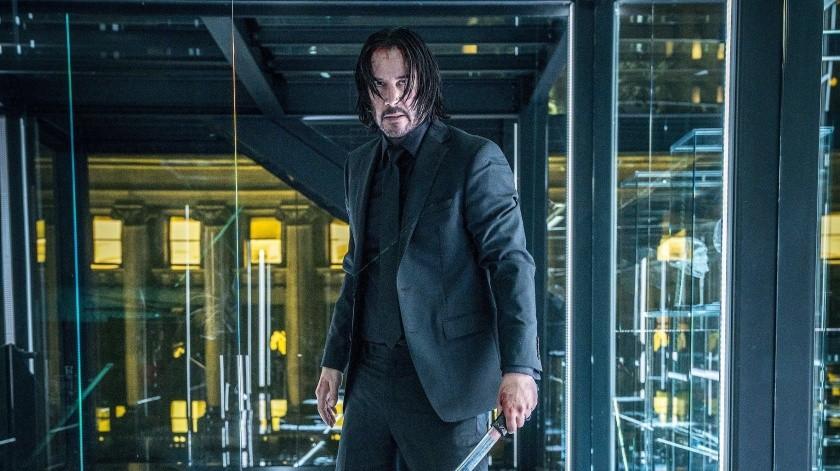 La cinta más reciente de John Wick se estrenó en 2019.
