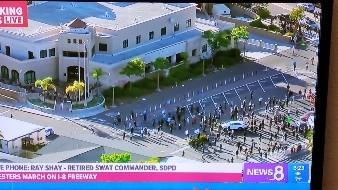 San Diego se une a protestas por deceso de George Floyd