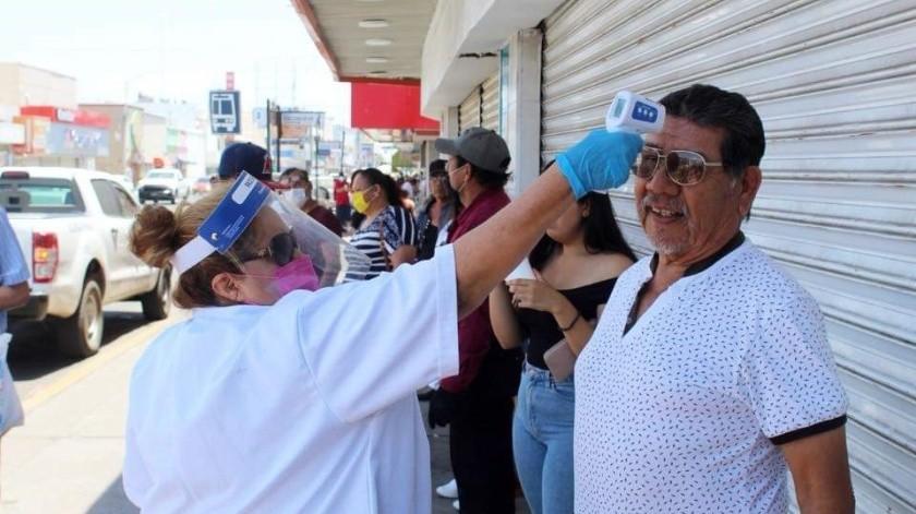 En un mensaje a los sonorenses, la mandataria estatal destacó que con criterios muy estrictos de sanidad reiniciarán labores.