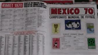 Panini celebra 50 años de su primer álbum, el del Mundial de México 70