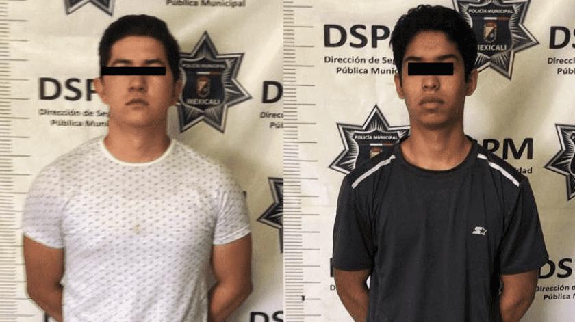 Arrestan a jóvenes por transportar miles de cervezas en el valle de Mexicali