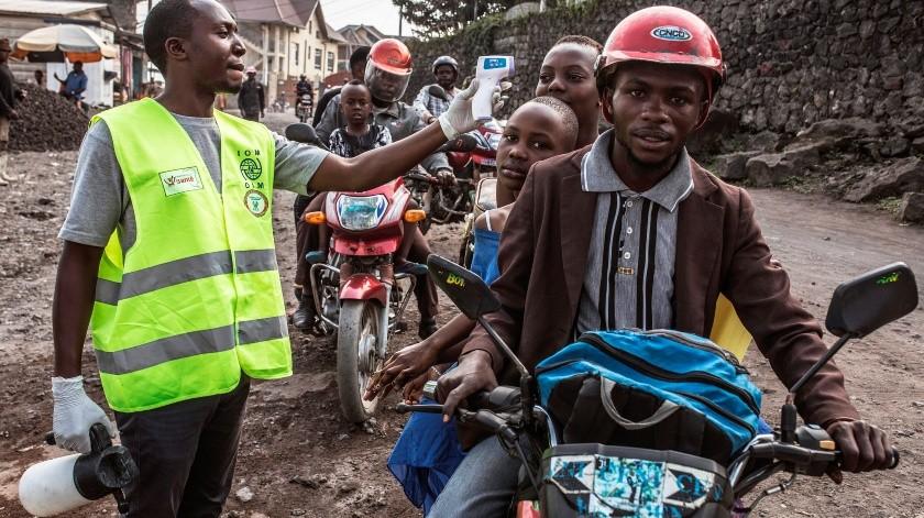 La RD del Congo confirma primer caso de ébola en la ciudad de Mbandaka.(EFE, EFE)