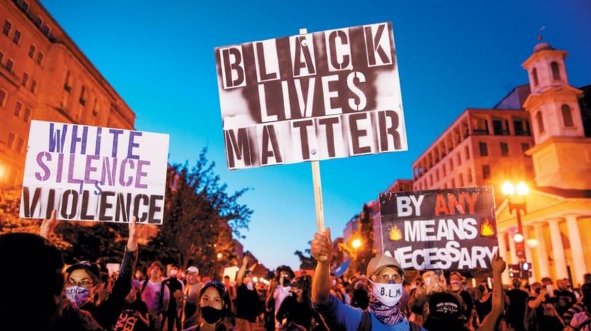 En Washington, D.C., al igual que en otras ciudades, incluyendo San Diego, se realizaron manifestaciones públicas por la muerte de George Floyd.