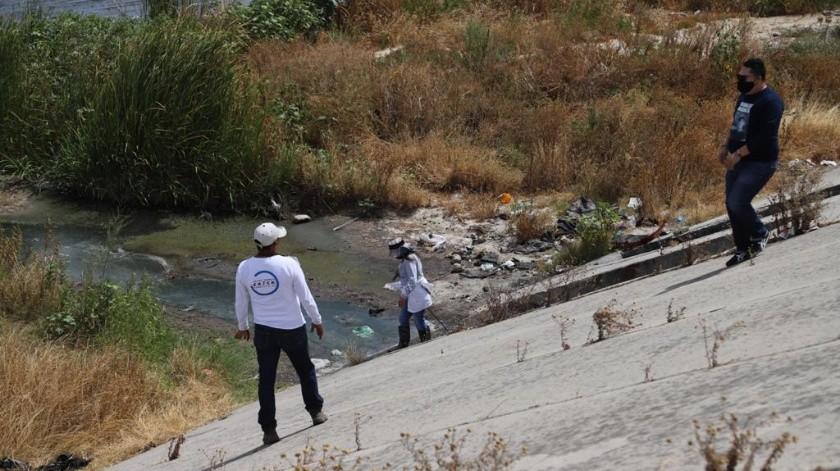 En la jornada participaron alrededor de 150 personas de nueve distintos colectivos de búsqueda de personas.(Sergio Ortiz)