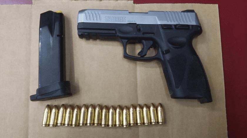 Residente de San Luis, Arizona, es detenido con arma en SLRC(Cortesía)