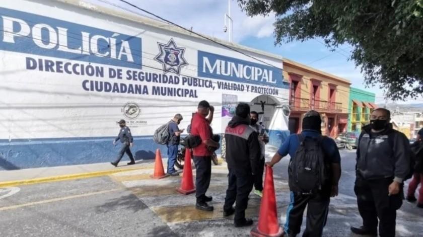 Policía de Oaxaca exige pruebas de Covid-19 ante muerte de 4 elementos(Especial)