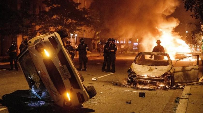 Washington amplía cuatro horas más el toque de queda tras protestas nocturnas(EFE)