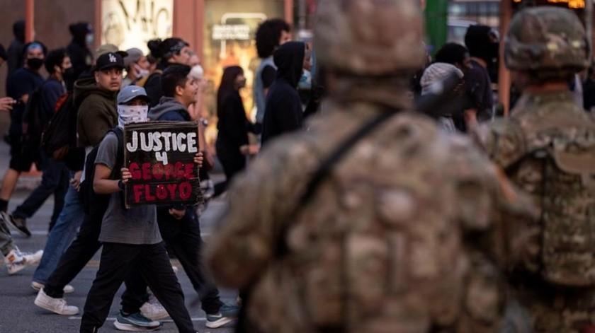 Guardia Nacional se reporta lista para apoyar en Arizona tras anuncio de toque de queda(EFE)