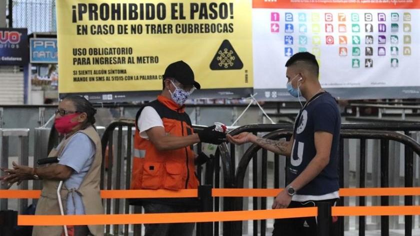 Suma México más de 10 mil decesos por Covid-19(EFE)