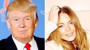 Donald Trump hizo comentarios inapropiados deLindsay Lohan cuando ella tenía 18 años.