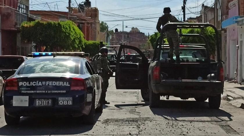 Estos homicidios han situado a Celaya como el municipio con la mayor cifra de agentes asesinados este año en Guanajuato, con 18 de los 40 reportados, indicaron.(EFE)