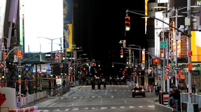 El caos y nuevos saqueos en Manhattan reciben el toque de queda en Nueva York(EFE)