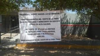 Exige etnia Yaqui serviciomédico de calidad en Issste