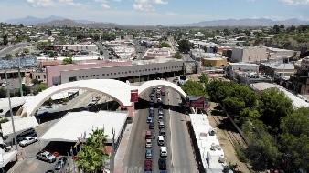 Autoridades de Arizona piden no cruzar a México por garita Dennis DeConcini