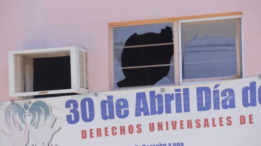 """Así luce la Guardería ABC en la colonia """"Y"""" Griega a casi  11 años de la tragedia que enluteciera a Sonora.(Julián Ortega)"""