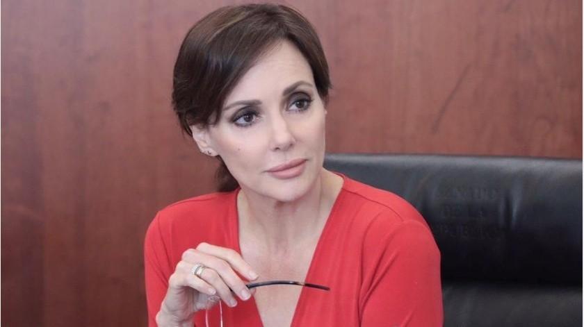 La senadora se integra a la bancada del PAN en el Senado tras dejar hacer tres meses el grupo parlamentario de Morena(Archivo GH)