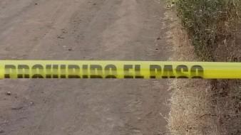 El cadáver fue encontrado en un camino vecinal ubicado en las inmediaciones del rancho El Gordo.