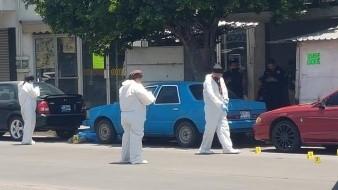 Matan a uno en pleno centro de Obregón, y a otro más en la Hidalgo