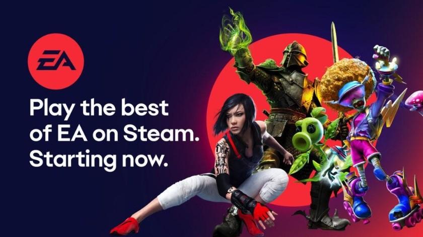 Electronic Arts agrega EA Access y varios juegos a la tienda de Steam