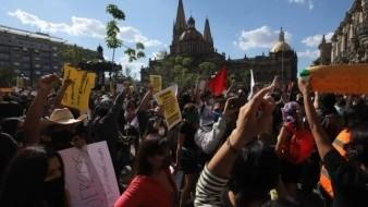 Van 26 personas detenidas tras disturbios durante protestas por asesinato de Giovanni en Jalisco