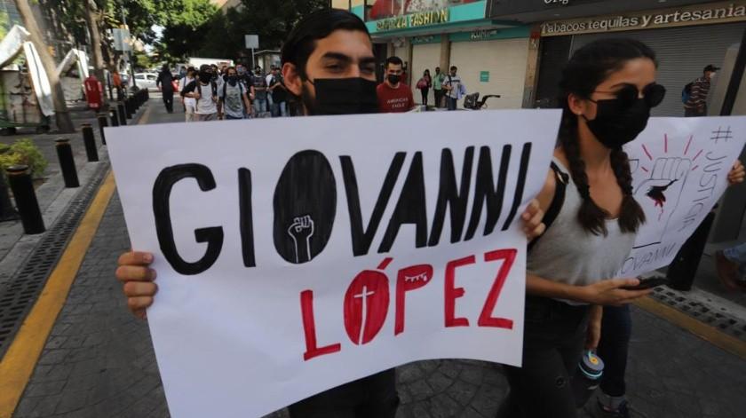 Alfaro informó que de los 27 detenidos de ayer por los desmanes en la manifestación se encuentran personas de Yucatán, Ciudad de México y Michoacán.(El Universal)