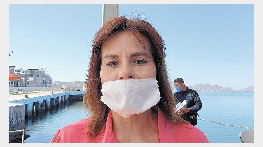 El uso de cubrebocas fuera de las casas de los guaymenses será obligatorio para evitar la proliferación del Covid-19, anunció la alcaldesa Sara Valle Dessens.(Especial)