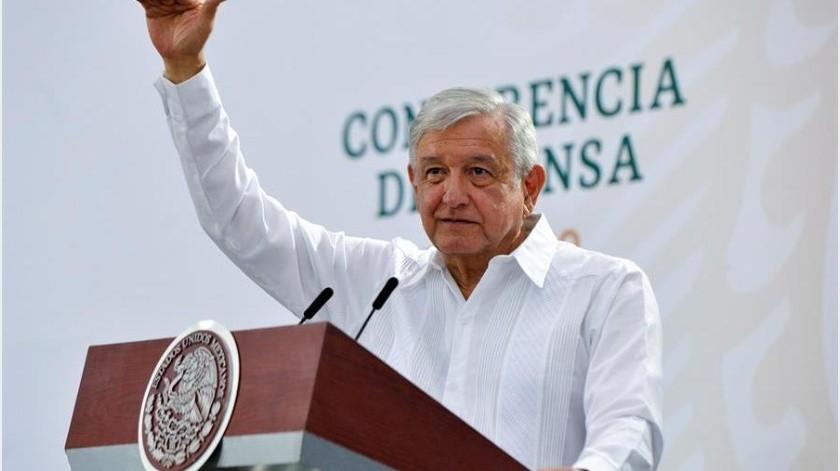 """""""No existe evidencia científica de que este mecanismo (el uso de cubrebocas) sea eficiente, hasta hoy"""", declaró Hugo López-Gatell, subsecretario de Prevención y Promoción de la Salud, en su conferencia.(EFE)"""