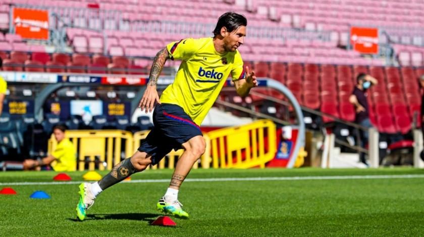 ¡Tranquilos culés! Messi regresa a  entrenar; Suárez recibe el alta médica