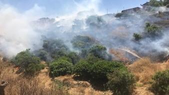 Podrían aumentar incendios forestales hasta en 200% en Rosarito