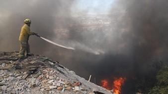 Las cifras durante la jornada de incendios de este martes