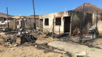 Siete familias perdieron su hogar tras los incendios en la colonia Progreso