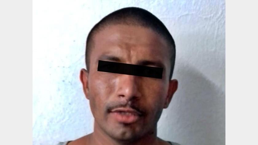 """Alejandro Alonso """"N."""" fue aprehendido y quedó en prisión preventiva oficiosa, donde aceptó el procedimiento abreviado para su caso y se le dictó sentencia."""