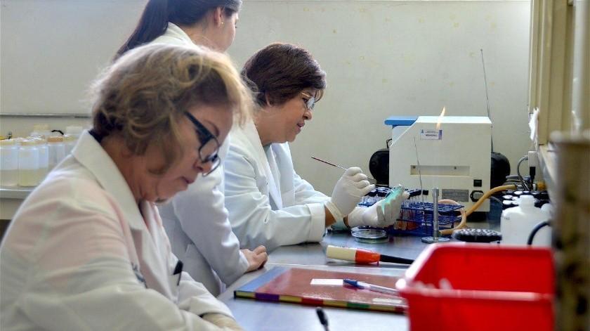 Con altos estándares de calidad se procesa cada prueba que llega al Laboratorio Estatal de Salud Pública.(Redacci�n)