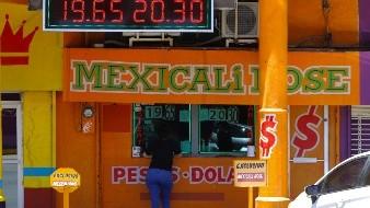 Sube dólar frente al peso durante inicio de semana