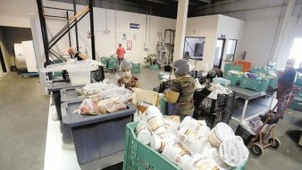Banco de Alimentos aumenta 233% entrega de despensas