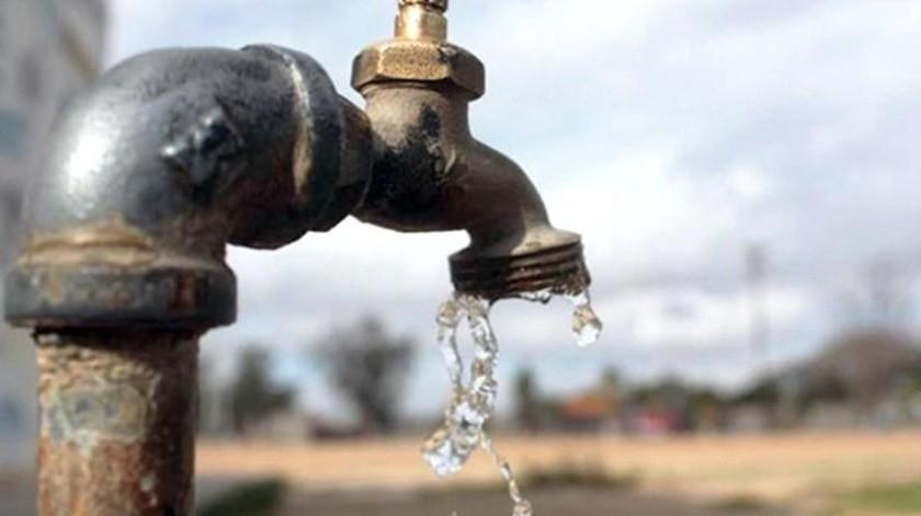 21 colonias y 2 parques industriales con problemas de agua
