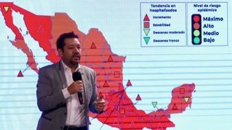 Autoridades de Salud presentaron el nuevo mapa de riesgo en el País.